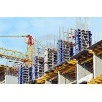 High rigidity plastic concrete wall formwork system , concrete shuttering systems Manufactures