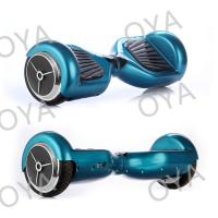 Two Wheel Intelligent Blue Chrome Electric Self Balancing Scooter Electric