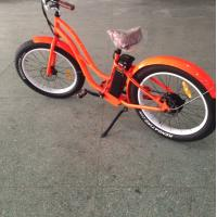 500W brushless motor powered bicycle , womens full suspension mountain bike Manufactures