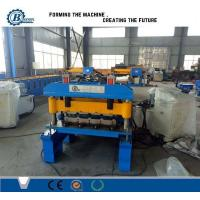 820 Model Metal Steel IBR Roof Panel Roll Forming Machine / Roof Sheet Making Machine Manufactures