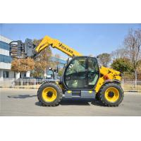 China Yellow Small Telescopic Forklift Versatile Lifting Handling Equipment High Efficiency on sale