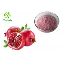 China Spray Dried Instant Fresh Pomegranate Juice Concentrate Powder 100% Water Soluble on sale