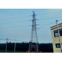 China Low Alloy High Strength Structural Steel Electricity Transmission Towers on sale