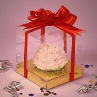 Cupcake Box, Made of PVC Plastic, Used for Food Packing