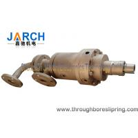 Cast iron oil male threaded rotary coupling / hydraulic rotary joint Max Temperature:400℃ Manufactures