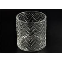 Replacement Cylinder Glass Candle Holders Heat Resistant With Lid Manufactures