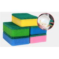 Heavy Duty Dish Washing Sponge With High Density Polyester Fiber Material Manufactures