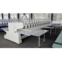 Industrial Computerized Embroidery Machine For Caps And T Shirts Manufactures