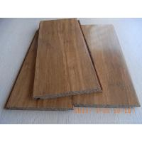 Carbonized Strand Woven Bamboo Flooring, Click lock Manufactures