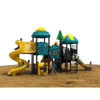 Plastic Outside Play Equipment For Children , Huge Playground Equipment Manufactures