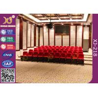 No Noise Dampening Return Auditorium Chairs Ultra - Soft Customized Design Manufactures