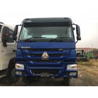 Blue HOWO Tractor Head Truck / 6x4 Tractor Units 6900*2550*3400mm ZZ4257V3241W Manufactures