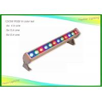 China 12pcs Outdoor / Indoor LED Wall Wash Lights Tri Color 24 X 3w for Stage Party on sale