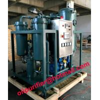Quality Stainless Steel Vacuum Turbine Oil Purification Plant, Emulsified Oil Filtration for sale