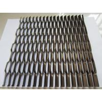 China Fluorocarbon Coating Aluminum Expanded Metal Mesh  on sale