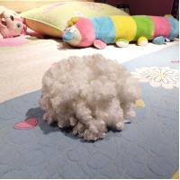 7Dx64MM siliconized hcs for sofa,clothing,pillow,toy,good rebound polyester stuffing Manufactures