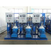 3000 - 9000 L/H PLC Centrifugal Lubricating Oil Purifier Separator Variable Discharging Type Manufactures