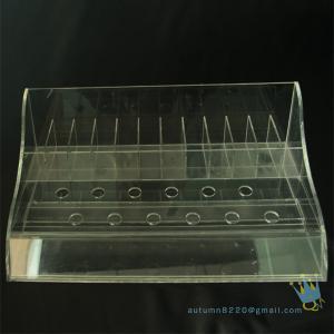China clear plastic bead storage box on sale