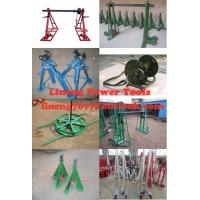 Cable drum trestles, made of cast iron,Jack towers Manufactures