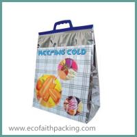 Thermal Food Bag with Handle Isothermal Tote Bag for Frozen Food Manufactures