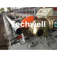 0.4-1.2mm Octagonal Tube Pipe Roll Forming Machine Equipment With Guiding Column And Slide Blocks Forming Structure Manufactures