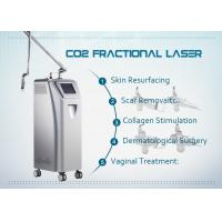 Fractional Co2 Laser Skin Resurfacing Equipment For Scar Removal / Vaginal Rejuvenation Manufactures