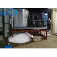 Shaved Flake Ice Machine , 380V/50Hz/3P Ice Block Machine 1 Year Warranty Manufactures