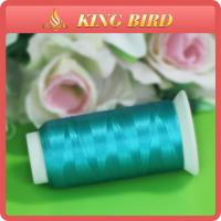 China Customize Rayon Sewing Machine Embroidery Threads Plastic Spools on sale