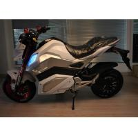 Ac 220v 250hz Electric Powered Motorcycles With Lithium Battery 72v 30ah Manufactures