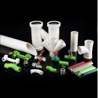 Buy cheap Hot / Cold Water Ppr Plastic Water Pipe Non Toxic With Higher Flow Capacity from wholesalers