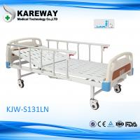 Durable Manual Hospital Patient Bed , Adjustable Medical Beds For Home Manufactures