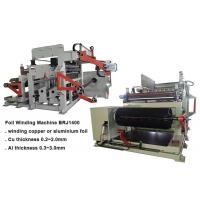Single Layer Foil Coil Winding Machine For 2500KVA Capacity Dry Type Transformer Manufactures