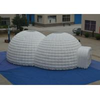 China Exhibition Blow Up Tailgate Tent Fire Resistance , Outdoor Games Blow Up Igloo Tent on sale