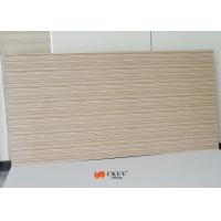 Quality Wood Grain MDF Melamine Board partition wall / sliding door panels for sale