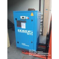 116 Psi 60 CFM Oil Less Double Auto Screw Type Air Compressors Single Stage 11kw Manufactures