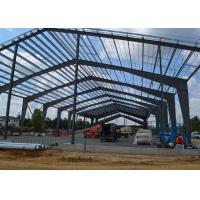 China Fast Erection China Steel Building Structural Frame portal steel frame building on sale