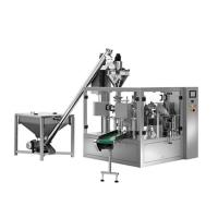 Buy cheap Food grade Quad seal bag water pouch packing machine price from wholesalers