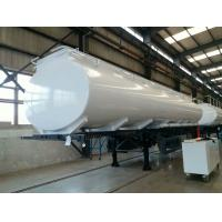 30 Cubic Meters Water Tank Trailer Truck for Unloading , Manual Transmission Manufactures