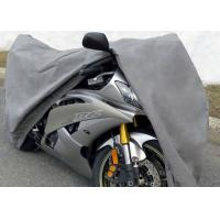 "3 Layer Material Waterproof Outdoor Motorcycle Cover 96"" L x 44"" W ( at wheelbase ) x 44"" H Manufactures"