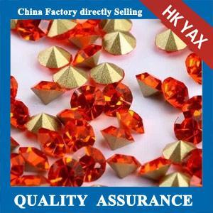 china brand round point back rhinestone,round rhinestone point back chaton point back rhinestone Manufactures
