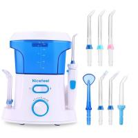 OEM Oral Care Dental Jet Water Pick Teeth Cleaner Oral Irrigator With 600 Ml Tank Manufactures