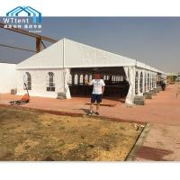 China Anti - UV White Outdoor Marquee Tent PVC Windows With Long Lifespan on sale