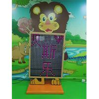 Pvc composite board Light up wall 120*60*240 with 500 pcs stick for older kids