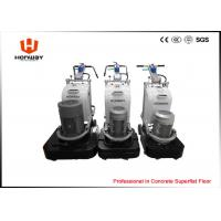 Four Grinding Plate Delta Inverter Marble Floor Polishing Machine For Variable Motor Speed Manufactures
