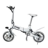 Drop Shipping Double Suspension Foldable Electric Bike Aluminum Material Manufactures
