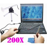 Portable Smartphone Digital Microscope 200X For Skin Detection / Biologic Inspection Manufactures