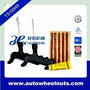 Safety Car Bike Motorcycle Repair Kit / Tire Repair Kit / Tire Plugging Tools Manufactures