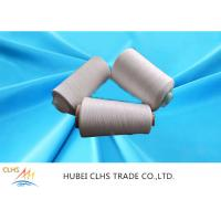 High Strength Polyester Spun Raw White Yarn 20s Count Anti - Pilling For Sewing Sofa Manufactures