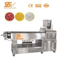 Instant Artificial Rice Making Machine / Artifical Rice Food Processing Line Manufactures