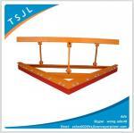 Single polyurethane blade primary conveyor belt scraper Manufactures